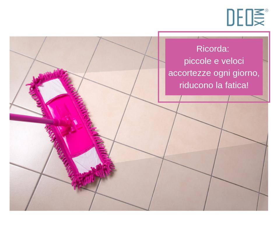 Come lavare i pavimenti senza fatica