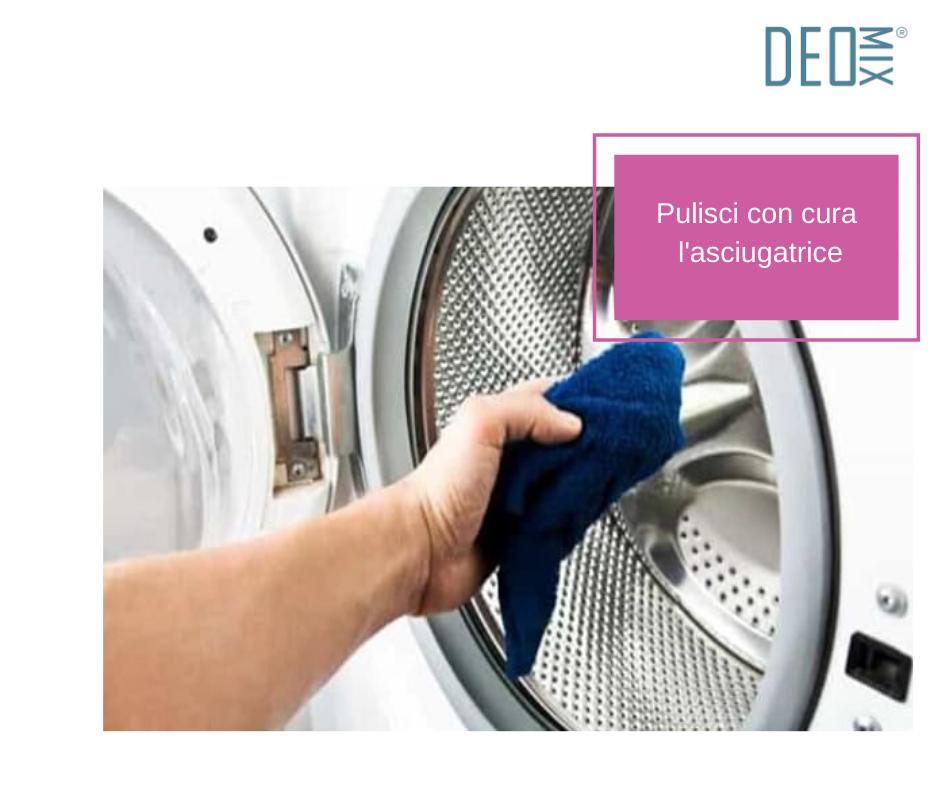 Come pulire l'asciugatrice