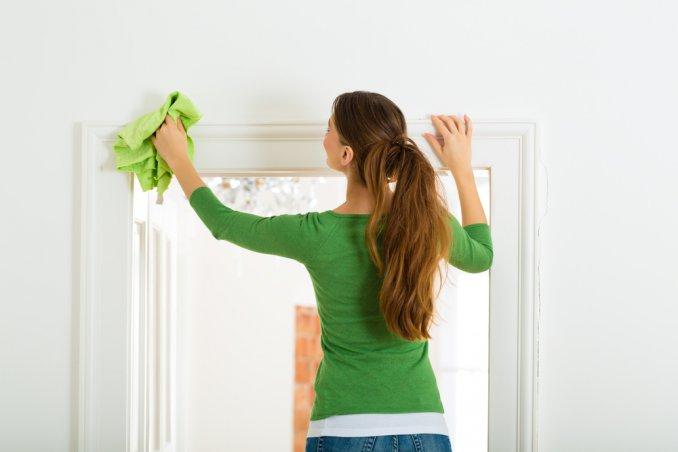 Pulire le pareti