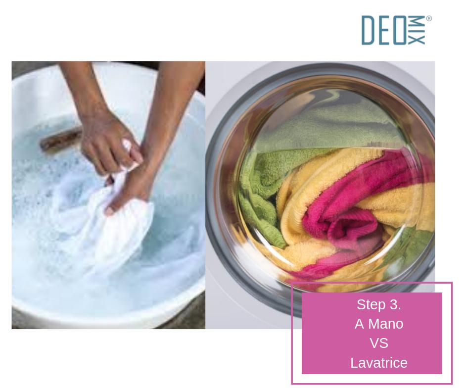 lavare costumi: a mano o in lavatrice?