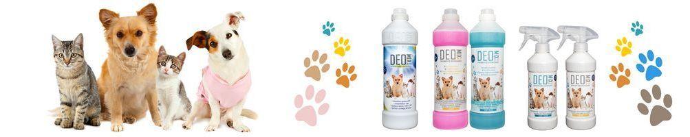 Linea pet - detersivi specifici per chi ha animali in casa