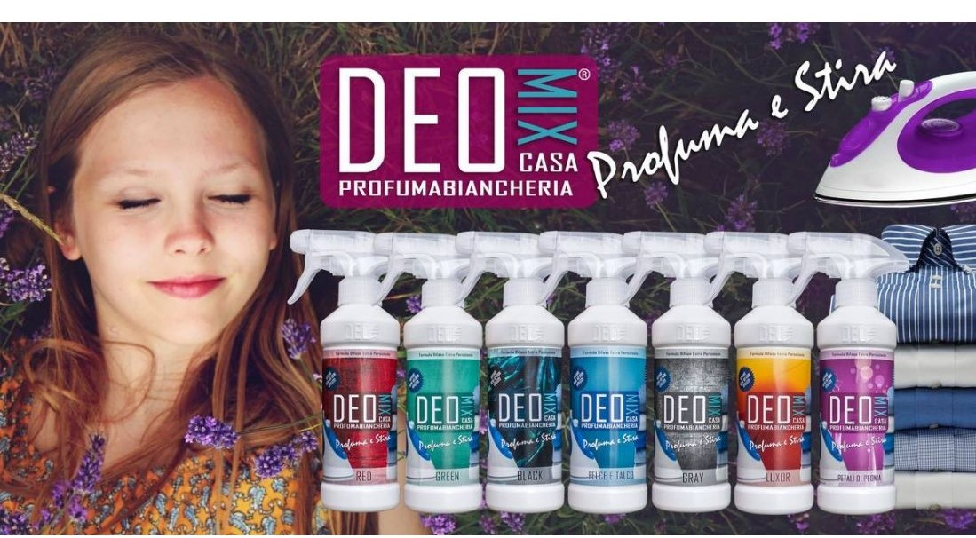 Profuma Biancheria Spray - Deo Mix Profuma e Stira