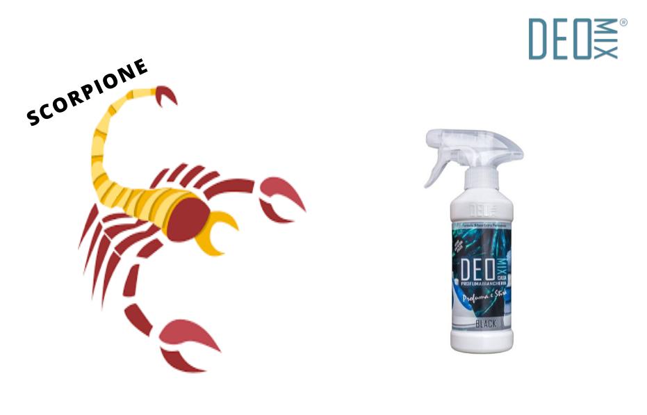 Scorpione profuma bucato perfetto