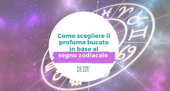 Come scegliere il profuma biancheria in base al segno zodiacale
